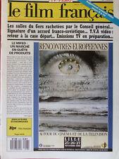 Le Film Français N°2217 (4 nov 1988) TVA vidéo - Salles du Gers - Vidéo