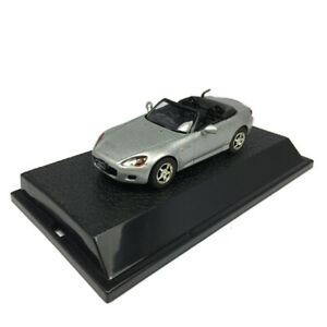 Honda S2000 Cabriolet 1/43 Scale Model Car Diecast Vehicle Collection Silver
