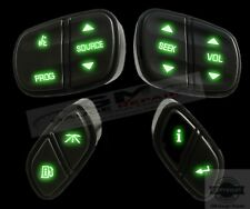 GMC GM Chevrolet Steering Wheel Controls Switches Buttons with Green LED's New