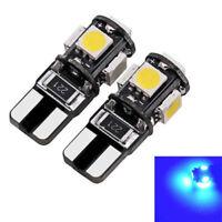 2 ampoules à  LED  Bleu w5w veilleuses / feux de position Mercedes Classe B w245