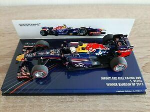 Sebastian VETTEL - MINICHAMPS 410130201 - RED BULL RB9 - WINNER BAHRAIN 2013