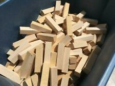 """(26)1"""" x 1"""" x 4"""" Solid Basswood Carving Turning Wood Blocks"""