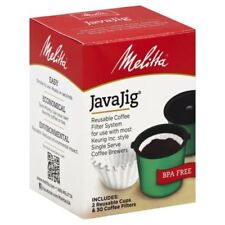 Melitta 63228 Javajig Reusable Coffee Filter System Kit
