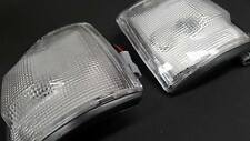 HOLDEN RODEO FRONT INDICATOR SET - CLEAR PAIR CORNER LIGHTS 1993 -1994 -1995