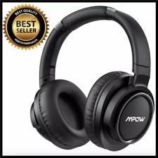 Active Noise Cancelling Headphones 50 Hours Playtime W/ Hi-Fi Deep Bass Foldable
