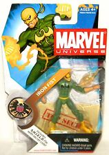 Marvel Universe IRON FIST BLACK DRAGON VARIANT #017 Heavy Package Wear