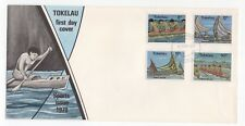 1978 TOKELAU ISLANDS First Day Cover SPORTS - CANOE RACING Issues