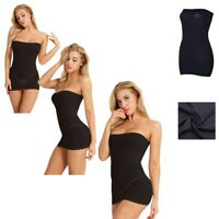 Women's Fashion Summer Mini Dress Strapless One Piece Evening Party Tube Dress