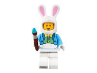 Lego Easter Bunny Rabbit Guy Minifigure 5005249 with Egg & Paintbrush