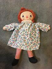 "Vintage Georgene Novelties 22"" Raggedy Ann Doll 1947"