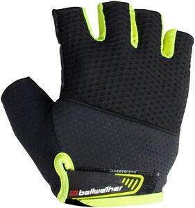 Bellwether Gel Supreme Fingerless Gloves | Hi-Vis Yellow | L
