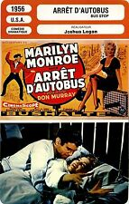 Movie Card. Fiche Cinéma. Arrêt d'autobus / Bus Stop (USA) Joshua Logan 1956