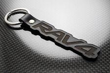 Toyota RAV4 Leather Keyring Keychain Porte-clés Schlüsselring 4x4 4WD SUV RAV 4