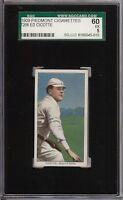 Rare 1909-11 T206 Ed Cicotte Black Sox Piedmont 150 Boston SGC 60 / 5 EX
