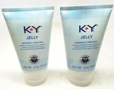 K-Y Jelly Personal Lubricant (4 oz), Premium Lube 4/2021+ NO BOX (PACK OF 2)
