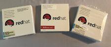 Lot of 3 REDHAT Enterprise Linux 5 Server & Enterprise Linux Version 4