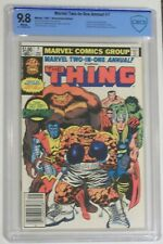 Marvel Two-in-One Annual #7 CBCS (not CGC) NM/MT 9.8 1st Champion Newsstand UPC
