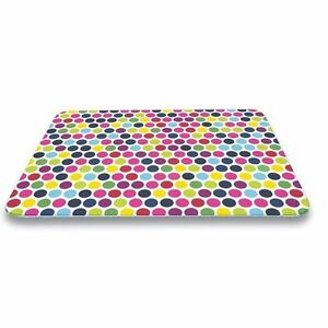Pebbly Kitchen Large Glass Chopping Board Worktop Saver Heat Resistant Trivet
