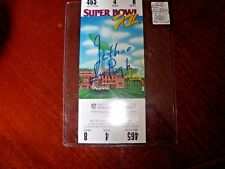 Jethro Pugh Autographed Super Bowl XII Ticket Comes In a Top Load Holder
