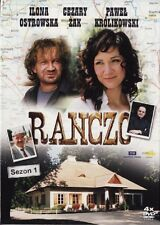 Ranczo - Sezon 1 - serial TV (DVD 4 disc)  POLSKI POLISH