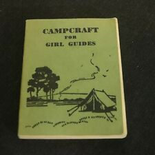 Campcraft for Girl Guides 1962 Paperback Canada