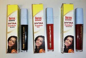 Eyetex Liquid Kumkum Indian Traditional Bindi Sindoor Sindur Forehead Makeup