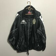 Vintage Kappa Gara 90s Juventus Soccer Zip Up Jacket Windbreaker Mens XL Italy