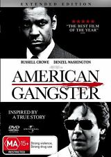 American Gangster (DVD, 2008) free delivery to aus