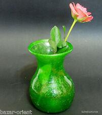 mundgeblasenes Glas Vase Glasvase Herat  Afghanistan Hand-blown glassware Nr-8