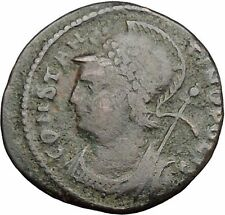 Constantine I The Great founds Constantinople Ancient Roman Coin Nike i32670