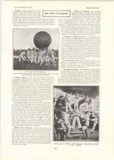 1902 Push Ball Match Leeds Hms Vulcan Gymnastic Exercises