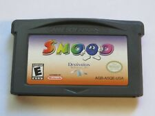 Snood Nintendo GameBoy Advance Video Game Only!