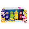 1x New Teletubbies 4 Chunky Figures Family Pack