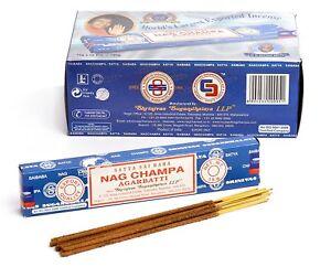5 Packs Original Satya Sai Baba Nag Champa Incense Sticks Joss Insence Genuine