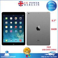 Apple iPad Air 1st Generation - A1474 - 16GB Wi-Fi- Space Grey Black - UK Seller