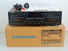 Pioneer CT-W606DR High-End Doppel Kassettendeck in OVP w.NEU, 2J.Garantie