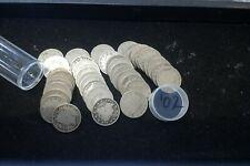1902 Liberty Nickels GOOD -  FULL circulated roll