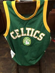 Mens Size XL NBA BOSTON CELTICS Basketball Jersey by Majestic Hardwood Classics