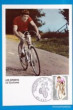 CYCLING GAP FRANCE Postcard Maximum FDC Yt C 1724 BIS