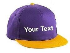 Chapeaux pour garçon de 2 à 16 ans en 100% coton