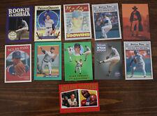 Nolan Ryan Lot of 10 Different Cards - Texas Rangers / New York Mets