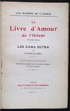 [B2621] Kama sutra de Vatsyayana