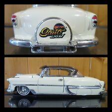 JADA 1953 CHEVROLET CHEVY BEL AIR CREAM W/ BROWN HARDTOP 50230-8 1/24 STREET LOW