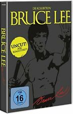 BRUCE LEE Uncut Collection TODESKRALLE Todesfaust LETZTER KAMPF DVD Box NEU