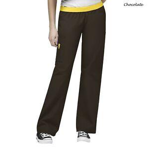 WonderWink Scrubs ORIGINS Women's Quebec Elastic Waistband Pant 5016