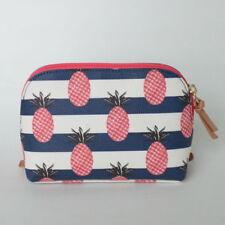 Travel Must Have! NWT Original $115 Tory Burch Kerrington Pineapple Cosmetic Bag