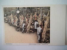 Beef Dressing Old Postcard Swift & Company Chicago