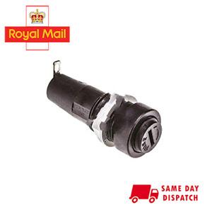 6mm*30mm Fuse Holder (15 Amp) for Ceramic & Glass Cartridge Fuses (6mm*32mm)