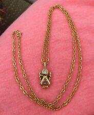 Vintage Angel Pendant Necklace- After Christmas Sale