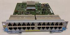 J9307A HP Procurve 24-Port 10/100/1000 PoE+ ports zl Module for J8697A J8698A